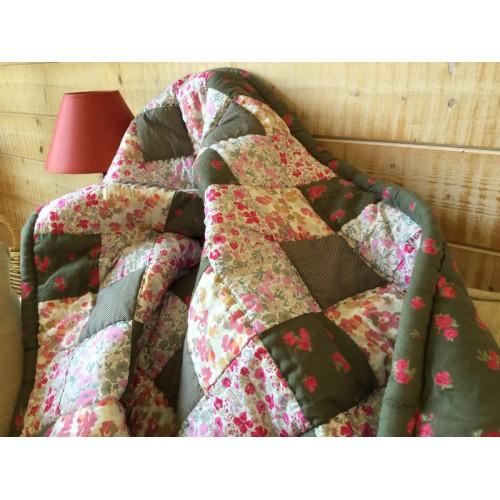 Tea garden Plaid Jeté de lit