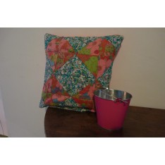 Strawberry blue Housse de coussin