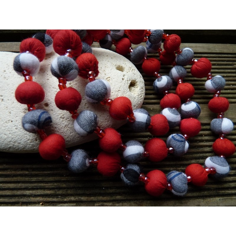 BERRIE rouge&gris