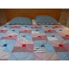 Americana Plaid Jeté de lit