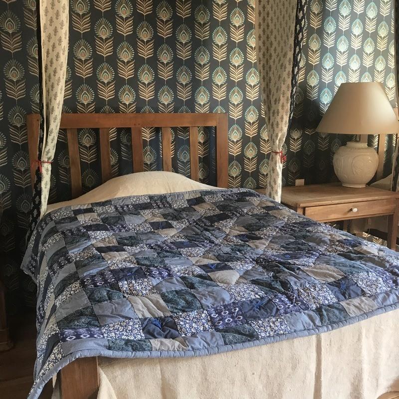Concord Plaid Jeté de lit