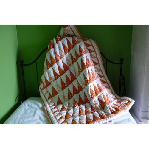 Mandarine Couverture bébé