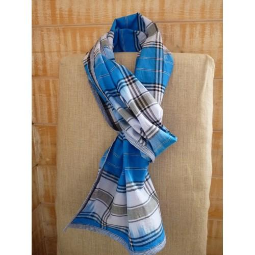 Madras bleu
