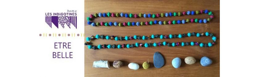 Joyaux de princesse : bijoux textiles